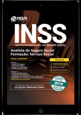 Download Apostila INSS - Analista do Seguro Social - Formação: Serviço Social (PDF)