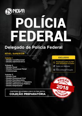 Apostila PF - Delegado de Polícia Federal