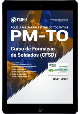 Download Apostila PM-TO PDF - Soldado