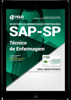 Download Apostila SAP-SP PDF - Técnico de Enfermagem