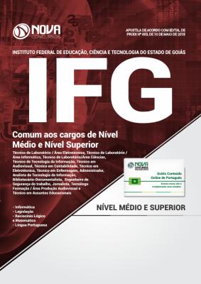 Apostila IFG-GO - Comum aos cargos de Nível Médio e Nível Superior