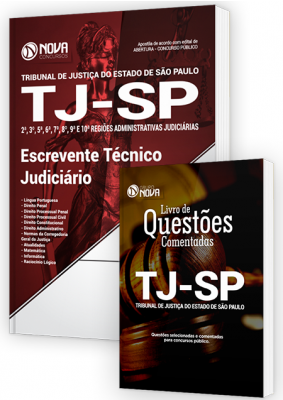 Apostila TJ - SP - Escrevente Técnico Judiciário