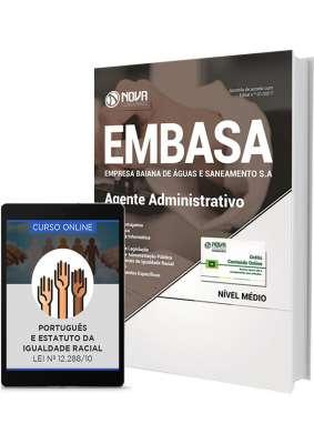 Apostila EMBASA - BA - Agente Administrativo