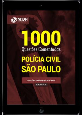 Download E-book 1000 Questões Comentadas PC SP (PDF)