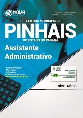 Apostila Prefeitura de Pinhais - PR 2017 - Assistente Administrativo