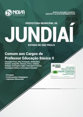 Apostila Prefeitura de Jundiaí - SP - Comum aos Cargos de Professor Educação Básica II