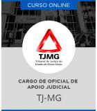 Curso Online TJ-MG – Oficial de Apoio Judicial (Classe D)