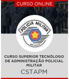 Curso Online CSTAPM - Curso Superior Tecnólogo de Administração Policial Militar