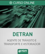 Curso Online DETRAN-CE - Agente de Trânsito e Transporte e Vistoriador