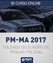 Curso Online PM-MA - Soldado do Quadro de Praças Policial