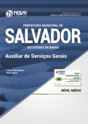 Apostila Pref. de Salvador-BA - Auxiliar de Serviços Gerais