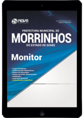 Download Apostila Pref. de Morrinhos - GO Pdf - Monitor