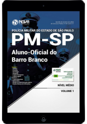 Download Apostila Barro Branco - PM-SP - Aluno Oficial (CFO)