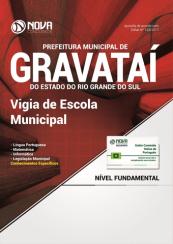 Apostila Prefeitura de Gravataí-RS - Vigia de Escola Municipal