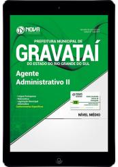 Download Prefeitura de Gravataí-RS PDF - Agente Administrativo II