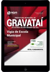 Download Apostila Prefeitura de Gravataí-RS PDF - Vigia de Escola Municipal