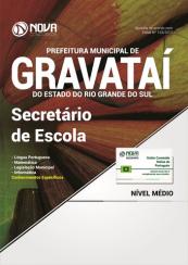 Apostila Prefeitura de Gravataí-RS - Secretário de Escola