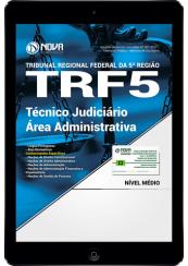 Download Apostila TRF 5 PDF - Técnico Judiciário - Área Administrativa