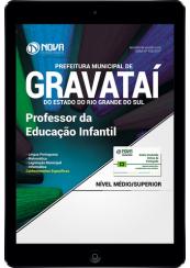 Download Prefeitura de Gravataí-RS PDF - Professor da Educação Infantil