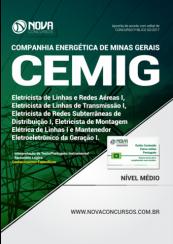 Apostila CEMIG - Cargos de Eletricista e Mantenedor