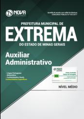 Apostila Prefeitura de Extrema-MG - Auxiliar Administrativo