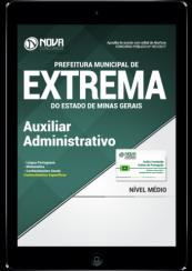 Download Apostila Prefeitura de Extrema-MG PDF - Auxiliar Administrativo