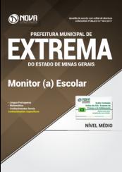 Apostila Prefeitura de Extrema-MG - Monitor (a) Escolar