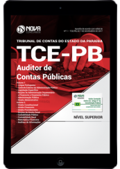 Download Apostila TCE-PB PDF - Auditor de Contas Públicas