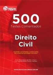 500 Testes de Direito Civil (Impresso)