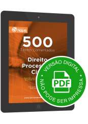 500 Testes de Direito Processual Civil (Digital)