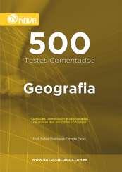 500 Testes de Geografia (Impresso)