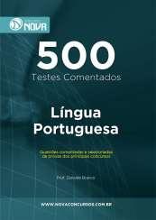 500 Testes de Língua Portuguesa (Impresso)