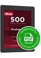 500 Testes de Professor (Digital)