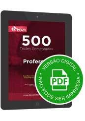 500 Testes de Professor (Digital)