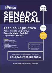 Apostila Senado Federal - Técnico Legislativo Especialidade: Policial Legislativo Federal