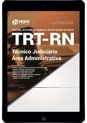 Download Apostila TRT-RN PDF - Técnico Judiciário - Área Administrativa