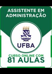 Curso Online UFBA - Assistente em Administração