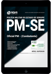 Download Apostila PM-SE 2018 - Oficial PM - Combatente (PDF)