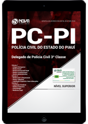 Download Apostila PC-PI - Delegado de Polícia Civil 3ª Classe (PDF)