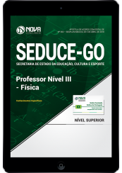 Download Apostila SEDUCE - GO - Professor Nível III - Física (PDF)