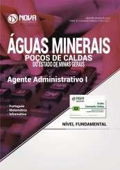 Apostila Águas Min. de Poços de Caldas - MG - Agente Administrativo I