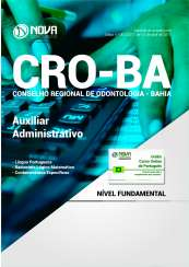 Apostila CRO-BA - Auxiliar Administrativo