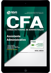 Download Apostila CFA-DF - Assistente Administrativo (PDF)