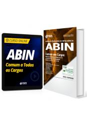 Combo ABIN - Comum aos Cargos de Oficial e Técnico de Inteligência