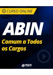 Curso Online ABIN - Comum a Todos os Cargos