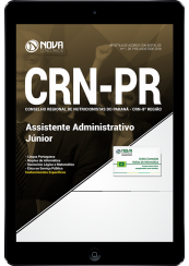 Download Apostila CRN-PR - Assistente Administrativo Júnior (PDF)