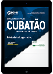 Download Apostila Câmara de Cubatão - SP - Motorista Legislativo (PDF)