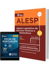 Apostila ALESP – Agente Legislativo de Serviços Técnicos e Administrativos