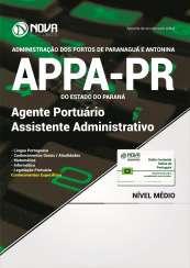 Apostila APPA-PR - Agente Portuário - Assistente Administrativo