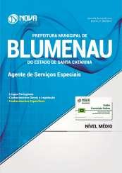 Apostila Prefeitura de Blumenau-SC - Agente de Serviços Especiais